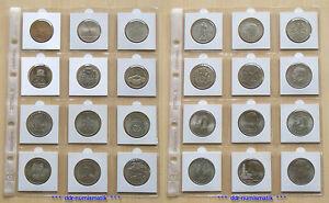 24-verschiedene-DDR-Gedenkmuenzen-5-10-20-Mark-1969-1990
