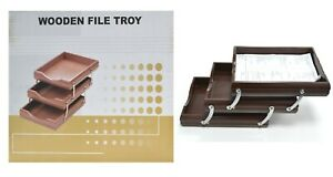 Expandable-Foldable-Wooden-Tray-to-Keep-Book-Paper-Organizer-Shelf-Tray-Rack