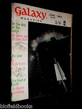 GALAXY MAGAZINE: Vintage Science Fiction Short Stories - June 1962 - Silverberg