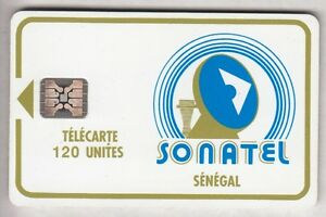 AFRIQUE TELECARTE - PHONECARD .. SENEGAL 120U SC4AN S-T V° LOGO2 C31141012 PUCE xd7QewAM-09084927-578395441