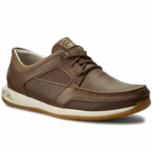 Clarks-Mens-Sporty-Ormand-Sail-Brown-Lea-Rock-Sole-UK-9-10-11-12-G
