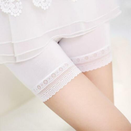 Women Underpants Lace Tiered Short Skirt Under Safety Pants Underwear Shorts