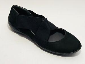 Camper Schuhe Nubuk Leder Slipper Größe 39 (UK 6) 6) (UK schwarz Rist Gummi ... af5d6d