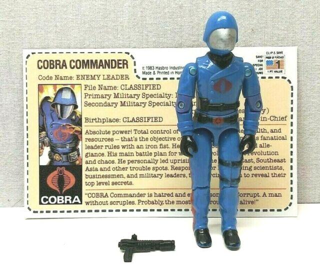 GI JOE COBRA 1983 COBRA COMMANDER THE ENEMY