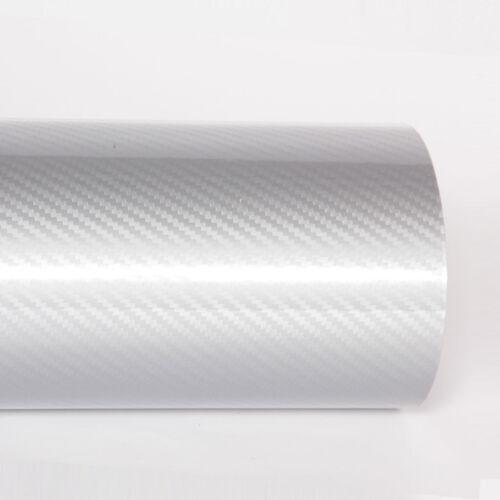 Fibre De Carbone Vinyle-Super Brillant 3D 4D véhicule Film Wrap