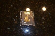 SDCC Blizzard Convention Exclusive Gold Arthas Collectible Pin - NIP - Blizzcon