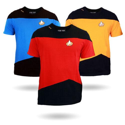 Official Star Trek TNG Uniform T-Shirt New