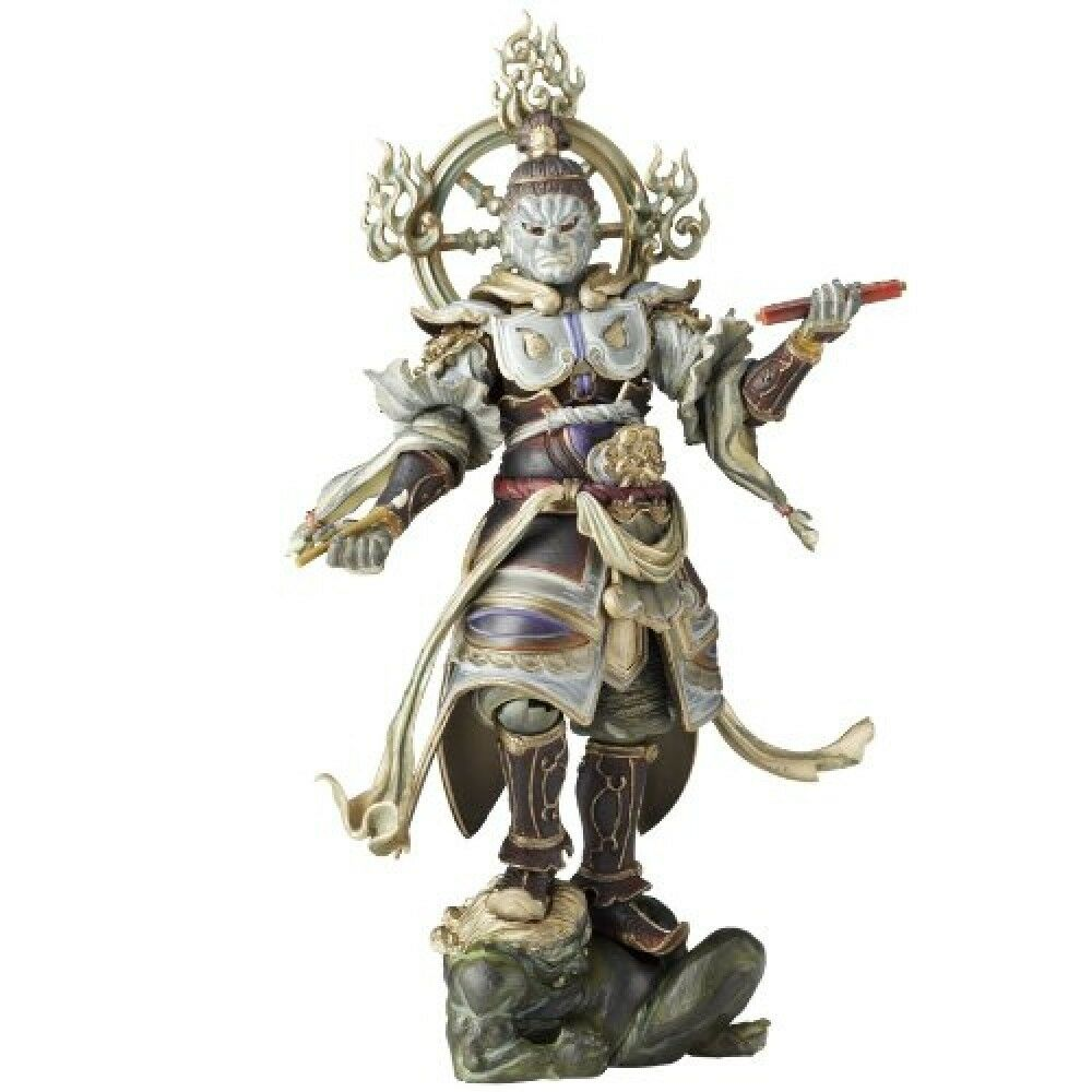 NEW Kaiyodo Revoltech Takeya Buddhist Deity Komoku-ten Action Figure F/S