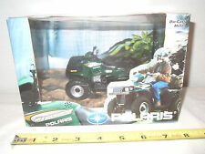 Dark Green Polaris Magnum 500 Four Wheeler  By Ertl  1/18th Scale