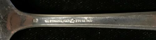 Sterling Silver Flatware Westmorland John And Priscilla Teaspoon