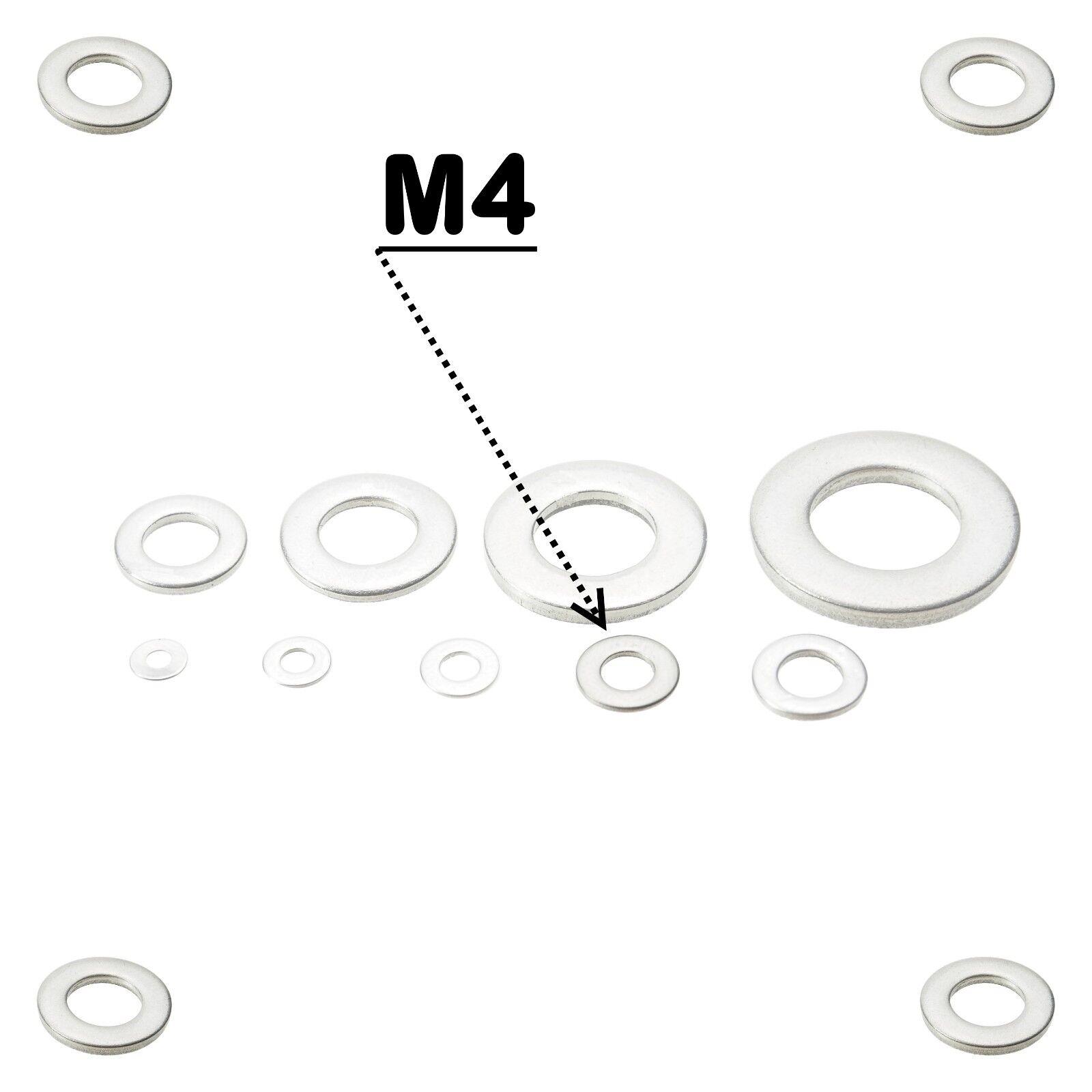 Unterlegscheiben DIN 125 125 125 Edelstahl V2A V4A Beilagscheiben A2 A4 Scheiben M1,6-24 | Deutschland Online Shop  aae68b