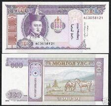 AA-prefix 1993 20 Tugrik Mongolia UNC /> horses ND P-55