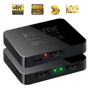 1080P-HDMI-1-In-2-Out-Splitter-Adapter-Converter-For-DVD-PS3-Xbox-HDTV-Projector