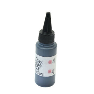 Tattoofarbe-Turbo-Schwarz-Tinte-60-ml-Tattoo-Farbe-Taetowierfarbe-Ink-Futt-KSX