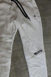 elegant shoes big discount best online Détails sur Hollister Homme Pantalon de Survêtement Blanc Noir Taille XL  Neuf avec Étiquette