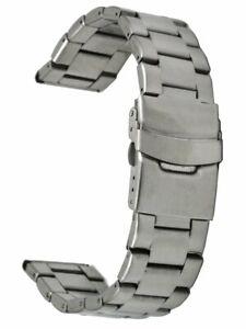 Edelstahl-Uhrenarmband-3-reihig-Ersatzband-Sicherheitsfaltschliesse-20-mm-Laenge-1