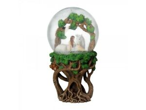 Anne-Stokes-Snowglobe-featuring-Pure-Heart-figurine