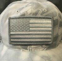Subdued American Flag Patch For Kryptek Yeti Camo