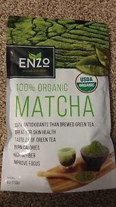 Matcha-Green-Tea-Powder-4oz-Strong-Milky-Taste-USDA-Organic-Certified