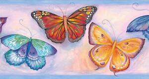 Wallpaper-Border-Blue-Watercolor-Butterfly-Butterflies