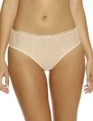 Freya Marvel Brief Knickers Butterscotch Size S 10 12 Beige Nude 1505 New