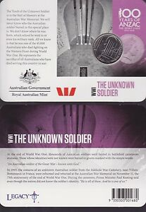2015-Australia-100-Years-Anzac-Centenary-20-cent-Coin-WWI-Unknown-Soldier-hero