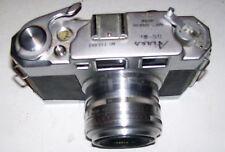 Rare Aires 35-III L 35mm Rangefinder Film Camera w/ Coral 45mm f/1.9 Lens, JAPAN