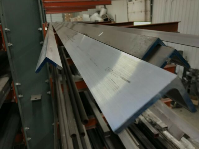"6061 T651 Aluminum Angle 2/""X 3/""X 48/"" Long 1//4/"" Thick"