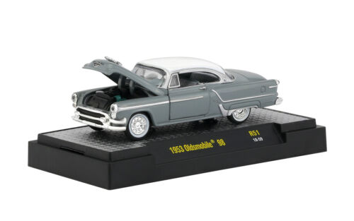 1953 Oldsmobile 98 Coupe Gray //White*** M2 Machines 1:64 RAR+OVP