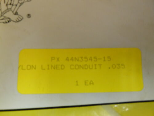 PROFAX NYLON LINED CONDUIT  FOR MIG GUN 15 FT FOR .035-.045 WIRE