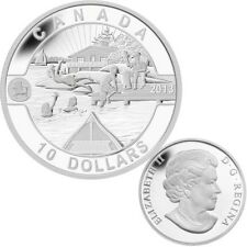 2013 O Canada Series $10 Fine Silver  Coin - Summer Fun (TAX Exempt)