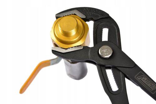 Kobra Zange Wasserpumpenzange Rohrzange 250 mm Zangenschlüssel FARYS