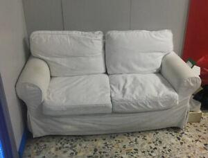 2 Posti Divano Due Posti Ikea.Divano Bianco Ikea Ektorp 2 Posti Ebay