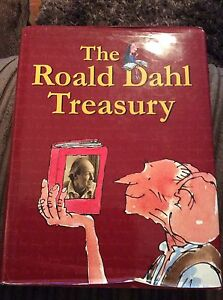 The-Roald-Dahl-Treasury-with-pictures-from-Quintin-Blake-large-hardback-1997