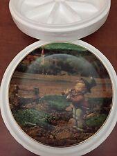 "Hummel Collector Calendar Plate / November ""Song of Thanksgiving""  / 8"""
