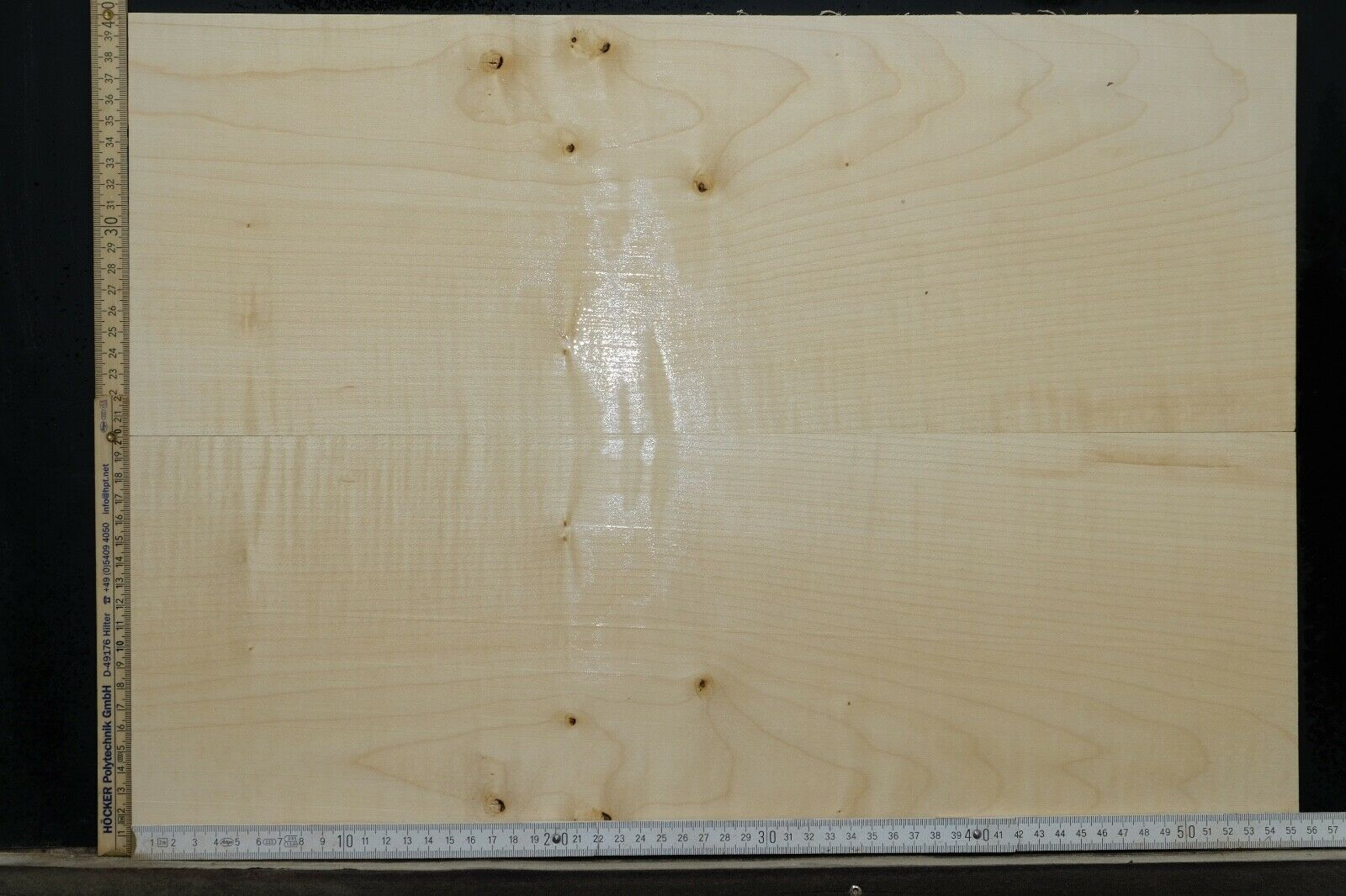Tonewood Riegel Ahorn Flamed Maple 6,5 mm Aufleimer Guitar Tonholz Droptop 412