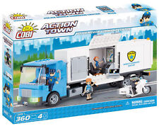 Costruzioni Cobi 1573 Action Town: Police Mobile Command Center, New!