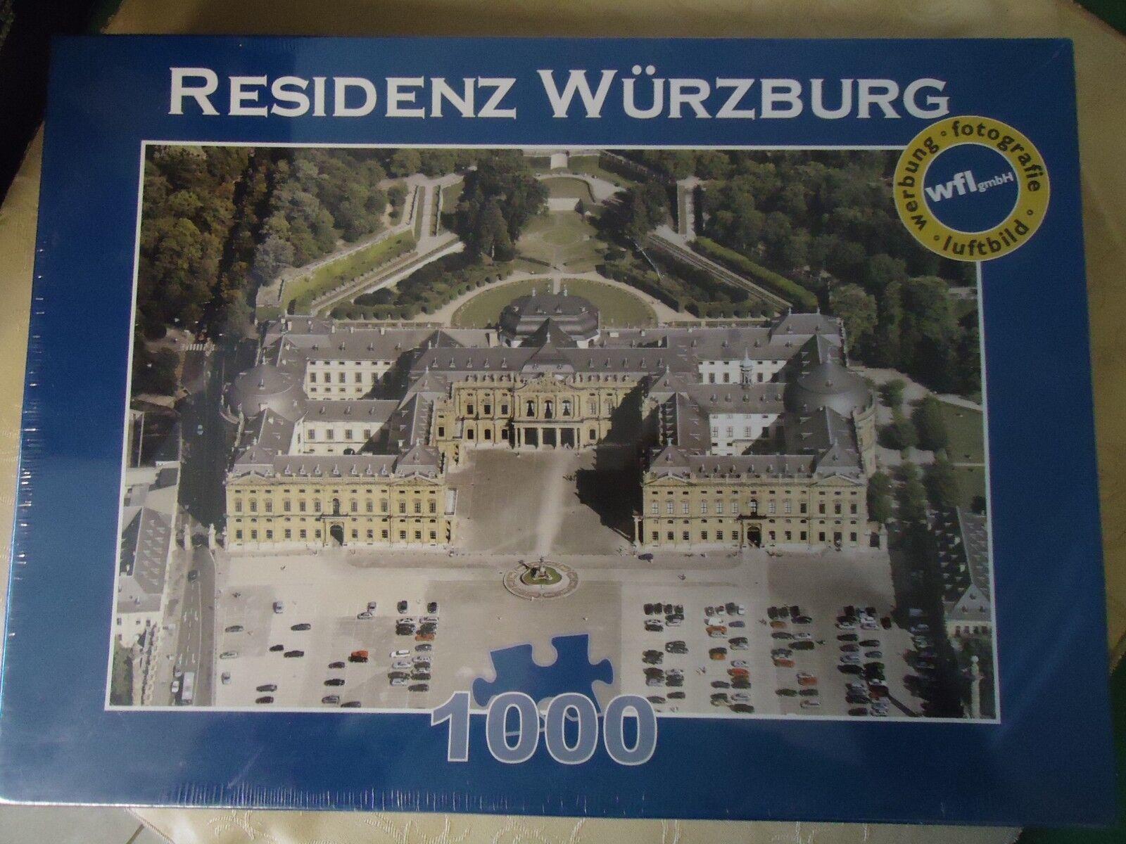 Die deutschen haben 1000 stck puzzle  residenz wrzburg  werbung fotografie
