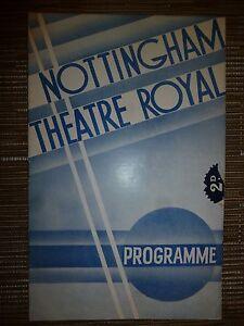 1936-NOTTINGHAM-THEATRE-ROYAL-PROMISE-JANE-WOOD-JOHN-BAILEY