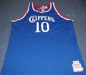 493b065aa58 MITCHELL   NESS NBA THROWBACK LOS ANGELES CLIPPERS NORM NIXON JERSEY ...