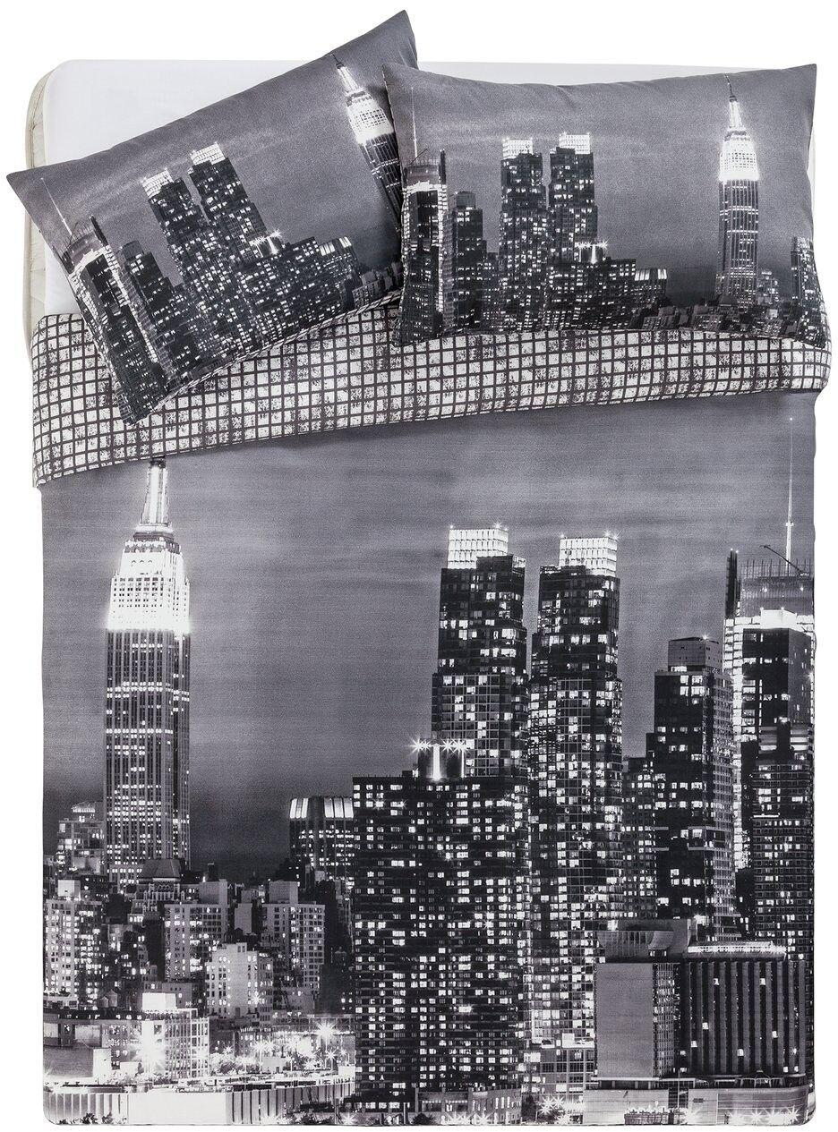 New York Skyline Bedding Set - Single