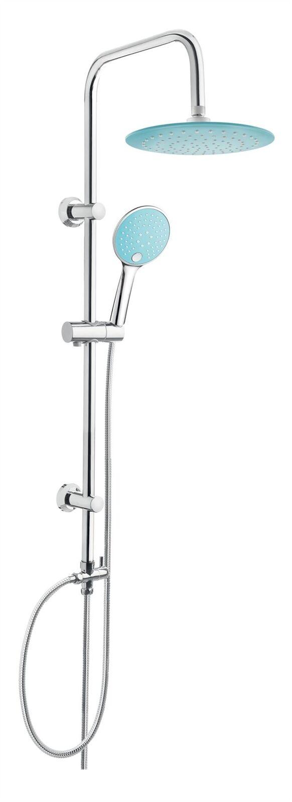 Komplettduschen 3s Paffoni Level Zsal079cr Neu Duschstange Brause Stange Handbrause Brauseset Bad & Küche