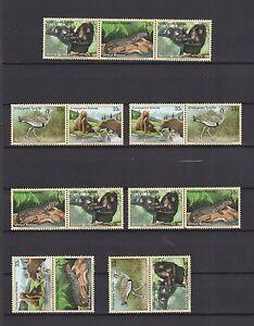 UNO-New-York-2000-postfrisch-MiNr-831-834-16-Zusammendrucke-Gefaehrdete-Arten