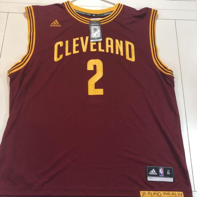 d374e564781 adidas Kyrie Irving Cleveland Cavaliers #2 Revolution 30 Replica ...