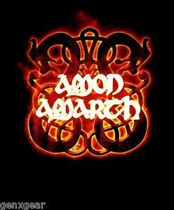 AMON-AMARTH-cd-lgo-FIRE-HORSES-Official-Black-SHIRT-XL-new