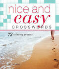Nice and Easy Crosswords: 72 Relaxing Puzzles by Mel Rosen (Spiral bound)
