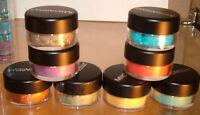 Micabella Natural Mineral Makeup 7xstacks  Singles Eye Shadows Shimmers Tropical