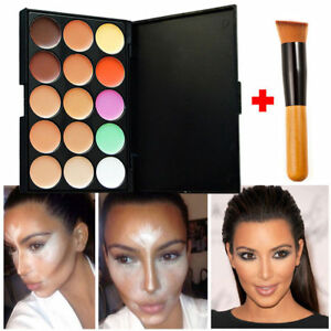New-15-Shades-Colour-Concealer-Contour-Makeup-Palette-Kit-Make-Up-Set