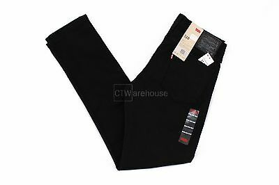Levis 510 Jet 055104173 - Mens Skinny Fit Jeans Black Stretch $68 All Sizes