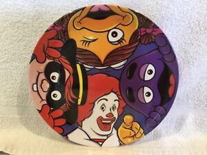 McDonalds-Melamine-Plate-Ronald-Hamburglar-Birdie-and-Grimace